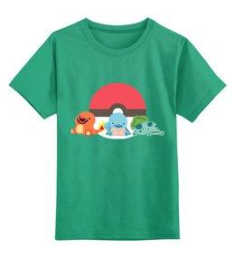 """Детская футболка классическая унисекс """"Покемон (Pokemon)"""" - pokemon, покемон, покемоны, пикачу, аниме"""