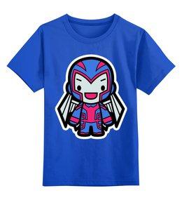"""Детская футболка классическая унисекс """"Магнето"""" - магнето, люди х, x-men, magneto"""