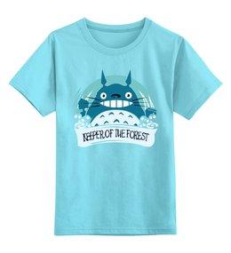 """Детская футболка классическая унисекс """"  TONARI NO TOTORO"""" - миядзаки, тоторо, totoro"""