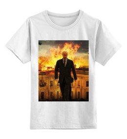 """Детская футболка классическая унисекс """"Путин В.В."""" - юмор, политика, путин, президент, общество"""