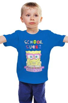 """Детская футболка """"Школа отстой"""" - школа, ребенок"""