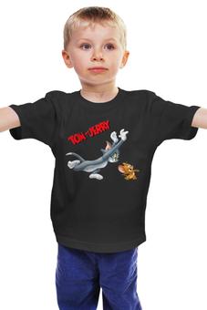 """Детская футболка """"Том и Джерри"""" - том и джерри"""