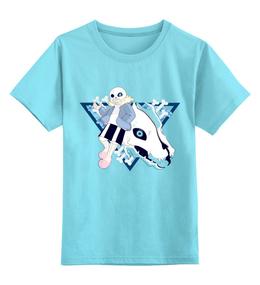 """Детская футболка классическая унисекс """"Санс."""" - андертэйл, санс, undertale, sans"""