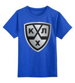 """Детская футболка классическая унисекс """"Хоккей"""" - хоккей, спорт, зима"""