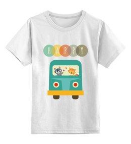 """Детская футболка классическая унисекс """"Happy"""" - happy, дети"""