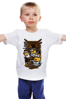 """Детская футболка """"Миньоны """" - карикатура"""