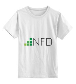 """Детская футболка классическая унисекс """"NeedForData"""" - nfd"""
