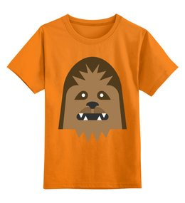 """Детская футболка классическая унисекс """"Чубакка"""" - чубакка, звёздные войны, star wars"""