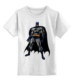 """Детская футболка классическая унисекс """"Batman """" - comics, бэтмен, superhero, gotham city"""