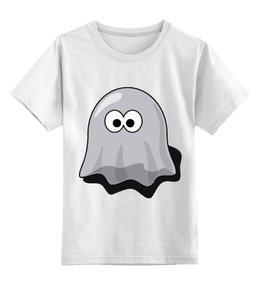 """Детская футболка классическая унисекс """"пакман ( pacman )"""" - pac-man, pacman, привидение, пакман"""