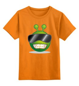 """Детская футболка классическая унисекс """"Андроид"""" - нло"""