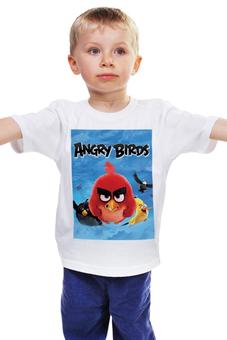 """Детская футболка """"Engry Birds 2016"""" - engry birds, engry birds в кино, engry birds 2016"""