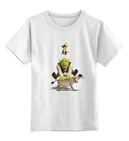 """Детская футболка классическая унисекс """"Шрек и его друзья"""""""