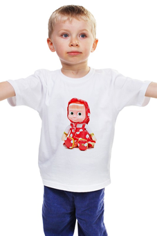 """Детская футболка """"кукла-ДЕВОЧКА МАША ИЗ МУЛЬТА. СМЕШНАЯ ОЗОРНАЯ."""" - кукла, мульт, игрушка, маша"""