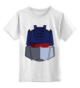 """Детская футболка классическая унисекс """"Оптимус Прайм"""" - оптимус прайм, трансформеры"""