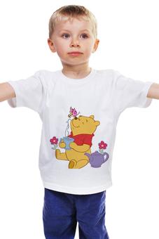 """Детская футболка """"Винни Пух"""" - мишка, мульт, винни-пух, винни, плюшевый"""