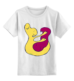 """Детская футболка классическая унисекс """"Дельфинарий. Добрых снов!"""" - арт, смешные, авторские майки, рисунок, прикольные, оригинально, креативно"""