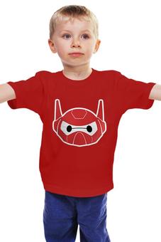 """Детская футболка классическая унисекс """"Baymax"""" - косплей, город героев, бэймакс, big hero 6, baymax"""