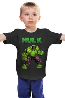 "Детская футболка ""Халк (Marvel)"" - marvel, халк"