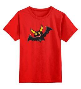 """Детская футболка классическая унисекс """"Летучая мышь"""" - юмор, мистика, вампир"""