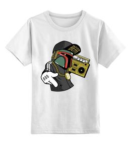 """Детская футболка классическая унисекс """"Боба Фетт"""" - музыка, боба фетт, звёздные войны, star wars"""
