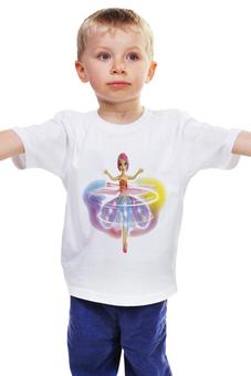 """Детская футболка """"КУКЛА.ОЧАРОВИТЕЛЬНАЯ. ДЛЯ ДЕВОЧЕК. """" - кукла, очаровашка"""