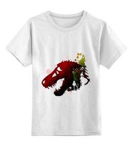"""Детская футболка классическая унисекс """"Парк Юрского периода"""" - динозавры"""