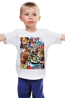 """Детская футболка """"Cartoons"""" - мультфильм, для детей, pixar"""