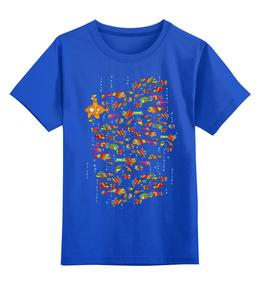 """Детская футболка классическая унисекс """"Фишки Кид"""" - арт, авторские майки, футболка, детская, yellow, submarine, kids, креативно, articulmedia"""