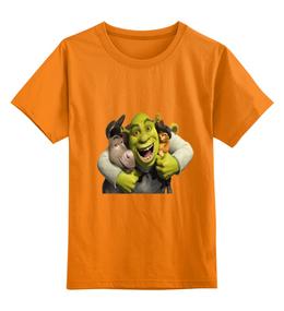 """Детская футболка классическая унисекс """"""""Шрек"""""""""""