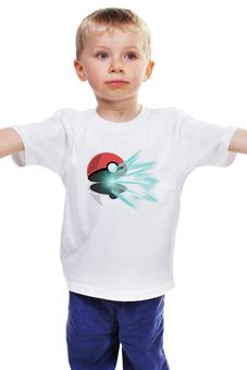 """Детская футболка """"Любитель Покемонов"""" - pokemon, покемон, покебол, poketball, любитель покемонов"""