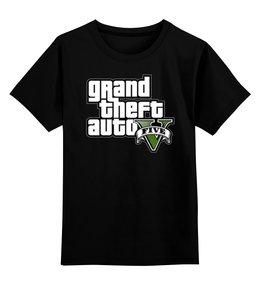 """Детская футболка классическая унисекс """"GTA 5"""" - игры, gta"""