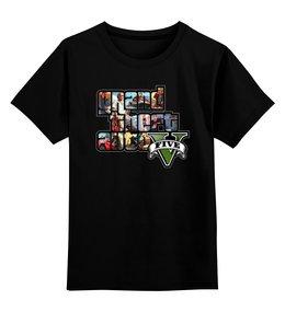"""Детская футболка классическая унисекс """"GTA 5"""" - gta, гта, игры"""
