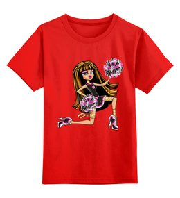"""Детская футболка классическая унисекс """"Monster high """" - школа монстров, для девочки"""
