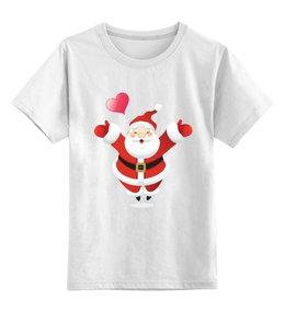 """Детская футболка классическая унисекс """"""""Новогоднее настроение"""""""" - новый год, настроение, праздники, дедмороз"""