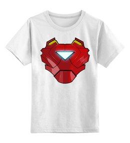 """Детская футболка классическая унисекс """"Iron Man"""" - железный человек, iron man, мстители, avengers"""