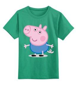 """Детская футболка классическая унисекс """"Свинка Пеппа """" - peppa pig"""