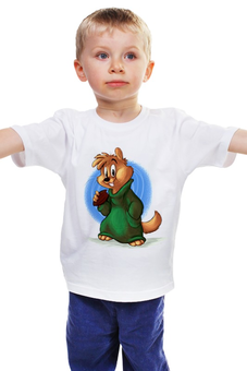"""Детская футболка классическая унисекс """"Грызун"""" - зверёк"""