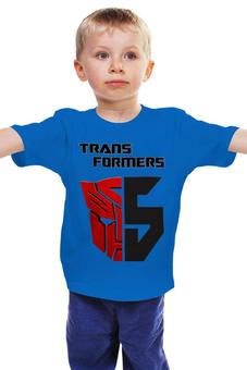 """Детская футболка """"Трансформеры 5"""" - transformers, трансформеры"""