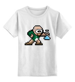 """Детская футболка классическая унисекс """"Хайзенберг (Во все тяжкие)"""" - хайзенберг"""
