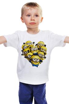 """Детская футболка классическая унисекс """"Миньоны               """" - футболка детская, гадкий я, despicable me, minions, футболка миньоны"""