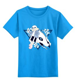 """Детская футболка классическая унисекс """"Санс."""" - undertale, sans, санс, андертэйл"""