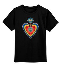 """Детская футболка классическая унисекс """"Хранитель Сердце"""" - сердце, дизайн, графика, декор, гармония"""