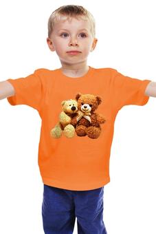 """Детская футболка """"любимые мишки .игрушка детства."""" - мишка, мульт, игрушка, любимый"""