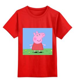 """Детская футболка классическая унисекс """"""""Свинка Пеппа""""🐷"""" - авторские майки, прикольные"""