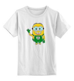"""Детская футболка классическая унисекс """"Миньон"""" - мультфильмы, детские, миньоны"""