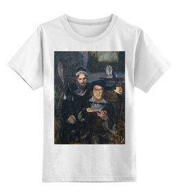 """Детская футболка классическая унисекс """"Гамлет и Офелия (картина Михаила Врубеля)"""" - картина, живопись, шекспир, литература, врубель"""