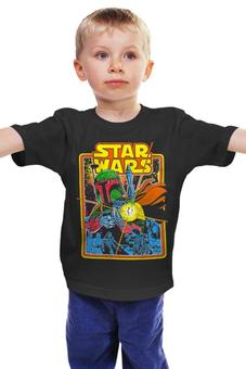 """Детская футболка """"Звездные Войны"""" - star wars, звездные войны, боба фетт, пробуждение силы"""