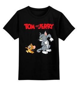 """Детская футболка классическая унисекс """"Том и Джерри"""" - том и джерри"""
