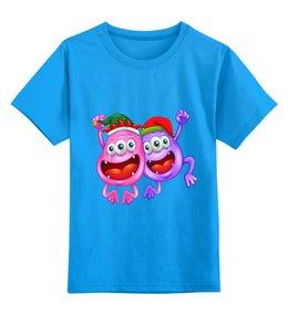 """Детская футболка классическая унисекс """"Монстры"""" - новый год, монстры, день св валентина"""